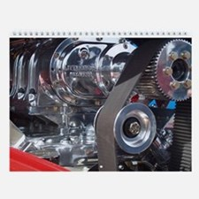 #1 Hot Rod Engines Photo Wall Calendar