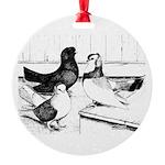 Koros Tumbler Pigeons Ornament