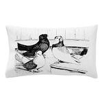 Koros Tumbler Pigeons Pillow Case