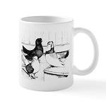 Koros Tumbler Pigeons Mug