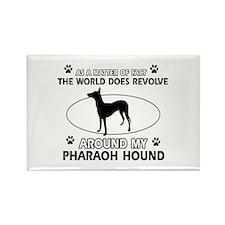 Pharaoh Hound dog funny designs Rectangle Magnet (