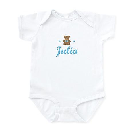 Blue Teddy - Julia Infant Bodysuit