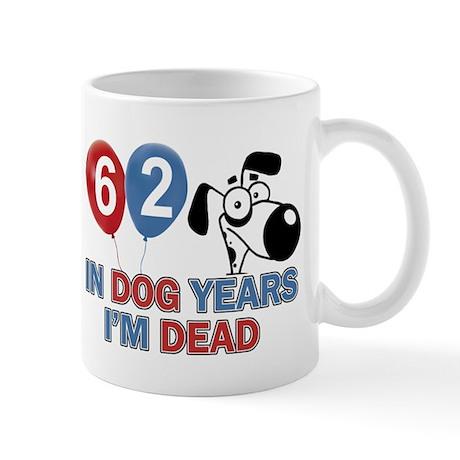 62 year old gift ideas Mug