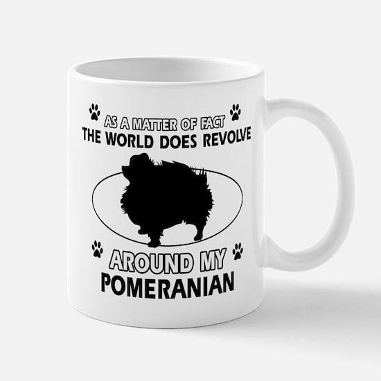 Pomeranian dog funny designs Mug