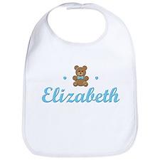 Blue Teddy - Elizabeth Bib