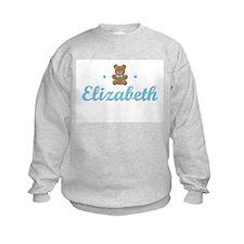 Blue Teddy - Elizabeth Sweatshirt