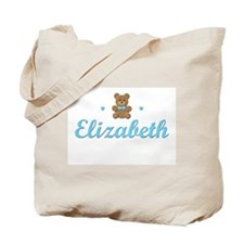 Blue Teddy - Elizabeth Tote Bag