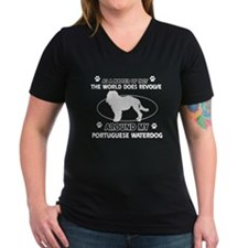 Portuguese water dog funny designs Shirt