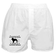 Portuguese water dog funny designs Boxer Shorts