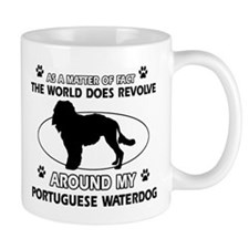 Portuguese water dog funny designs Mug