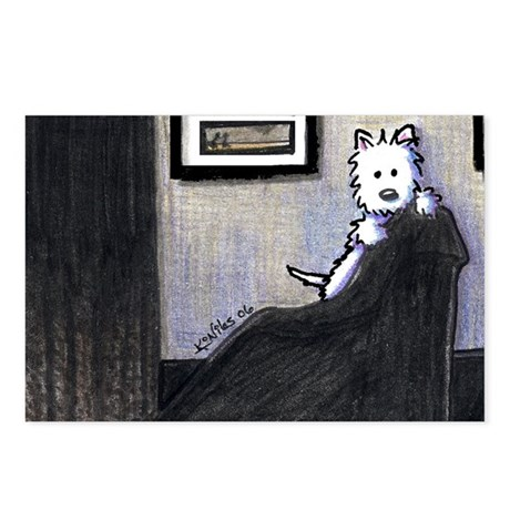 Whistler's Westie Postcards (Package of 8)