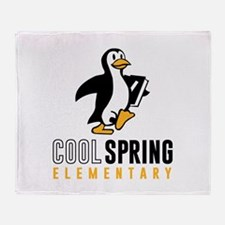 Cool Spring Elementary Throw Blanket
