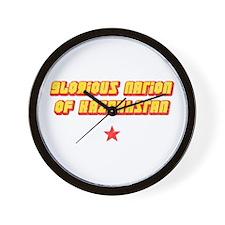 Glorious Nation Wall Clock