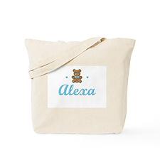 Blue Teddy - Alexa Tote Bag
