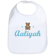 Blue Teddy - Aaliyah Bib