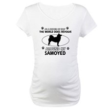 Samoyed dog funny designs Shirt