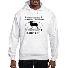 Schipperke dog funny designs Hoodie