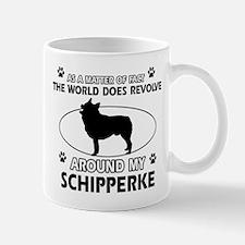 Schipperke dog funny designs Mug