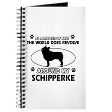 Schipperke dog funny designs Journal