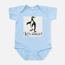 """Let's Dance!"" Penguin Infant Bodysuit"