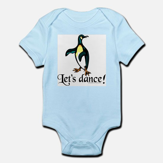 """Let's Dance!"" Penguin Infant Bodysuit"