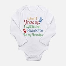 Awesome Like My Grandpa Baby Suit