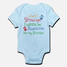Awesome Like My Grandpa Infant Bodysuit