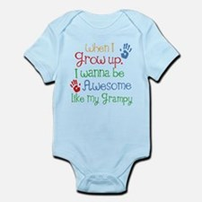 Awesome Like My Grampy Infant Bodysuit