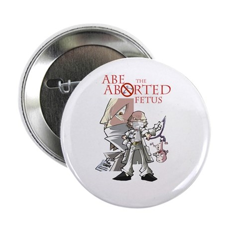 "Abe and Logo 2.25"" Button (100 pack)"