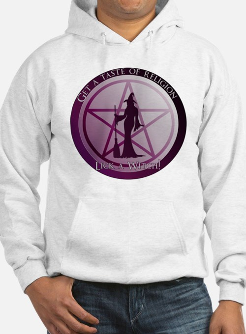 Get a taste of religion, lick a Witch Hoodie