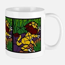 Leaping Lion Mug