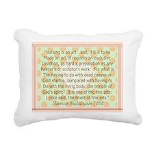florence blanket 2 Rectangular Canvas Pillow