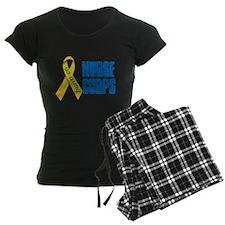 US Army Nurse Corps Ribbon Pajamas