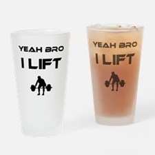 yeahbro Drinking Glass