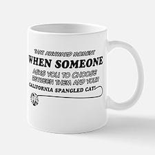 California Spangled cat gifts Mug
