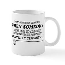 Chantilly Tiffany cat gifts Mug