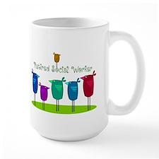 Retired Social Worker Mug