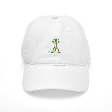 Gecko Lizard Flipping Off Baseball Cap