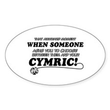 Cymric cat gifts Decal
