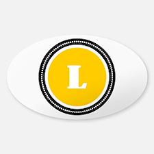 Yellow Sticker (Oval)