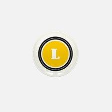 Yellow Mini Button (10 pack)