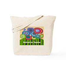 Retired Art Teacher Tote Bag
