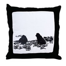 Newfy Cove Throw Pillow