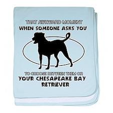 Chesapeake Bay Retriever dog funny designs baby bl