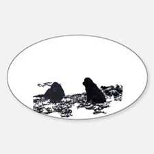 Newfy Cove Oval Decal