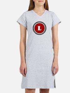 Red Women's Nightshirt