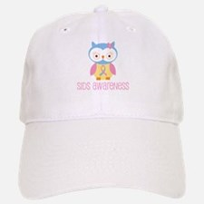 SIDS Awareness Owl Baseball Baseball Cap