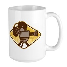 Vintage Movie Film Camera Retro Mug
