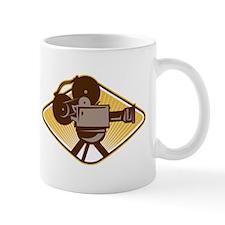 Vintage Movie Film Camera Retro Mug