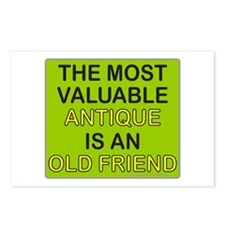 VALUABLE ANTIQUE/OLD FRIEND Postcards (Package of